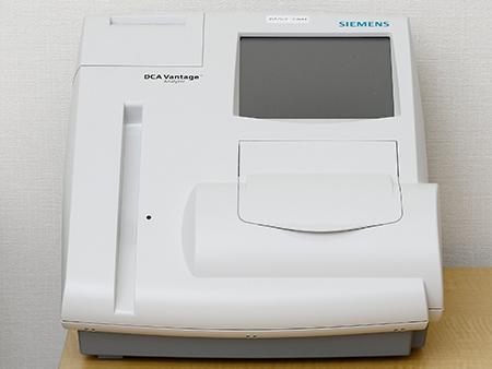 HbAlc定量測定器